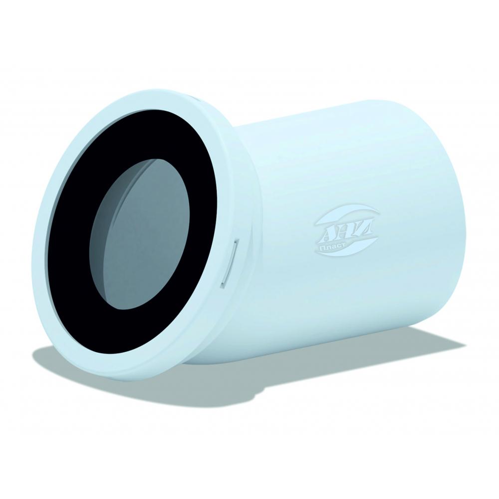 Купить Фановая труба для унитаза ани пласт 110 мм, 22, 5 гр., пластиковая труба w2220 025-0393