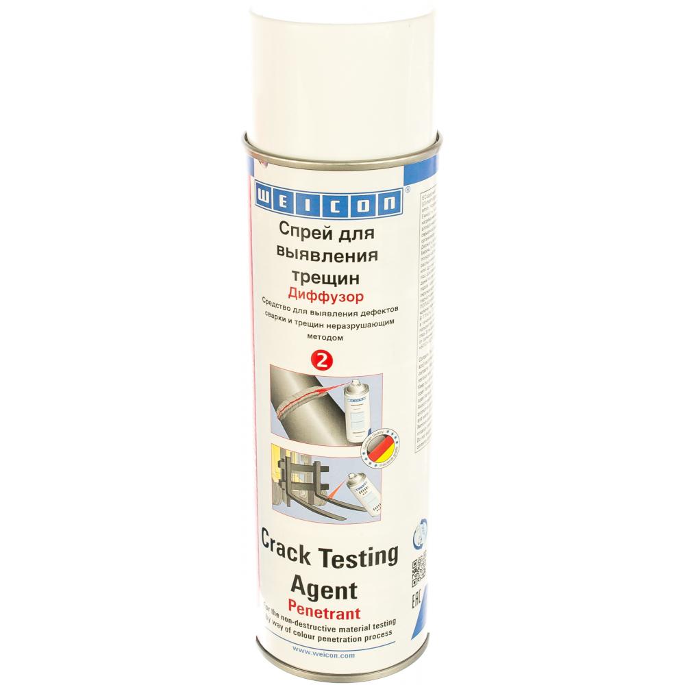 Купить Спрей диффузор для выявления трещин crack testing agent penetrant 500 мл weicon wcn11690500
