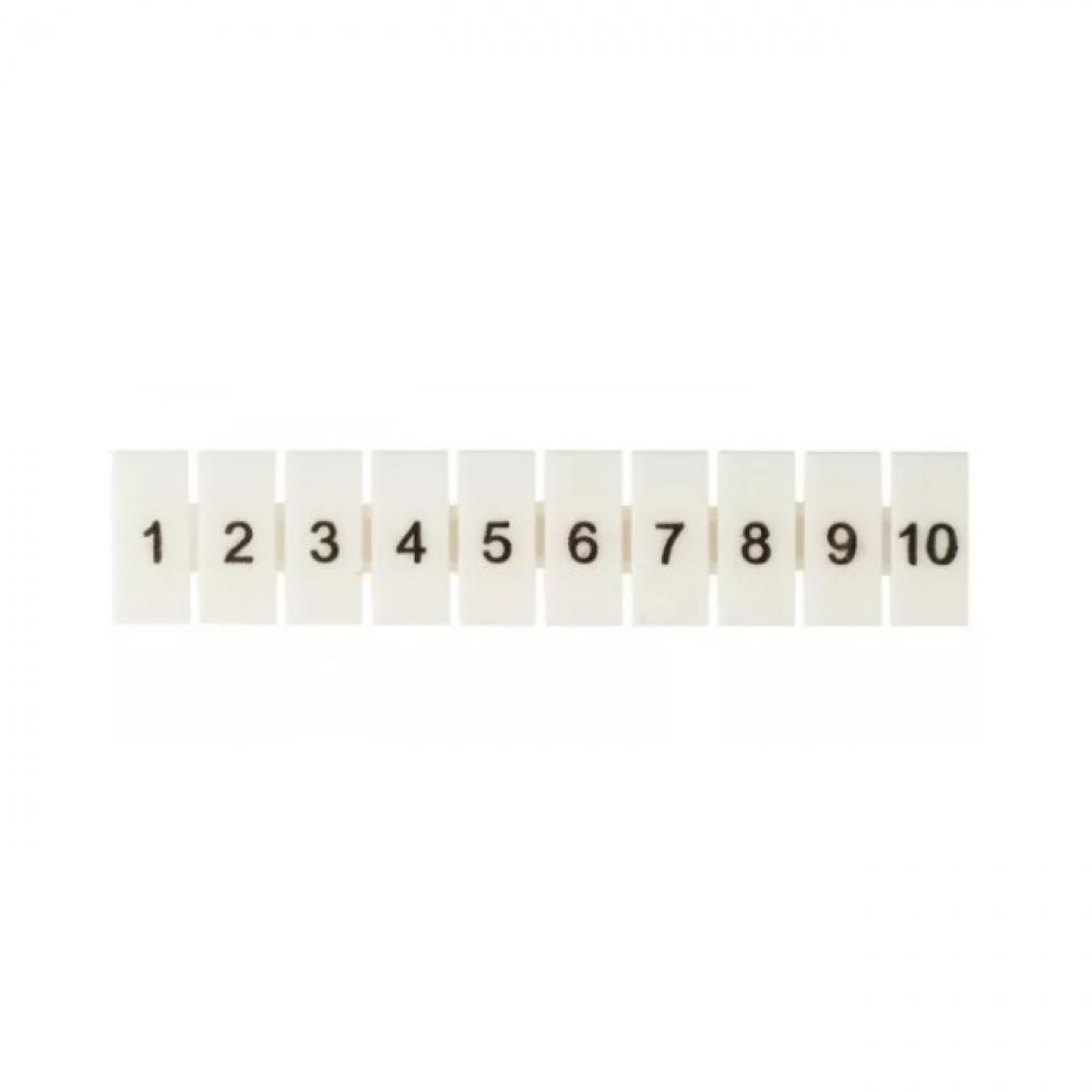 Купить Маркеры для jxb-st 6 с нумерацией 1-10 ekf proxima 10 шт., sq zb-st-6-1-10