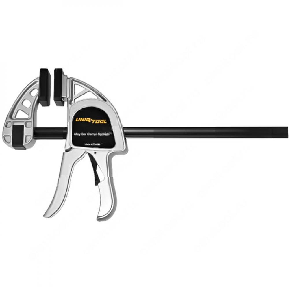 Быстрозажимная струбцина для работы одной рукой uniq tool усилие 350 кг., 600 mm. utc600a  - купить со скидкой