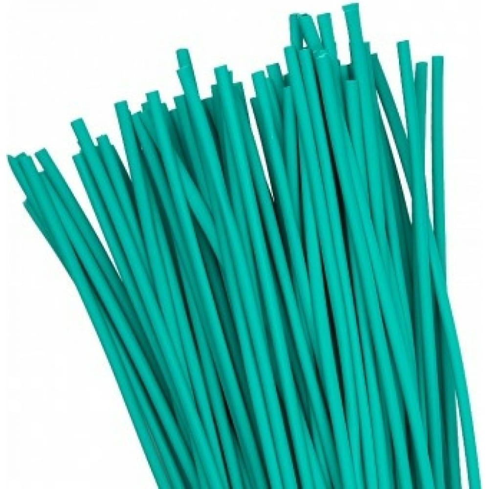 Термоусаживаемая трубка ekf тут, 4/2, зеленая, в отрезках по 1м, proxima sqtut-4-j-1m