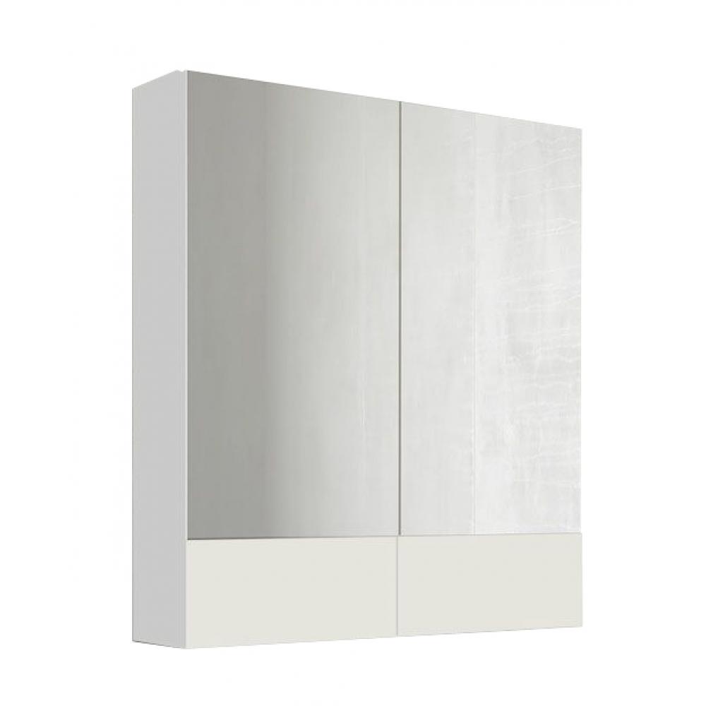 Зеркало 1marka соната 75 2 двери, белый