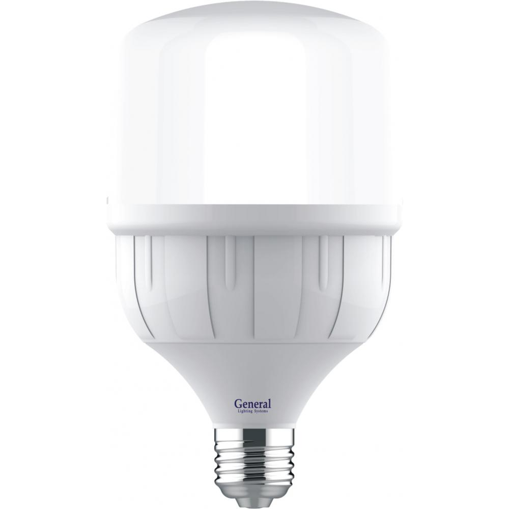 Высокомощная светодиодная лампа general lighting systems hpl-40w-e27-660006  - купить со скидкой