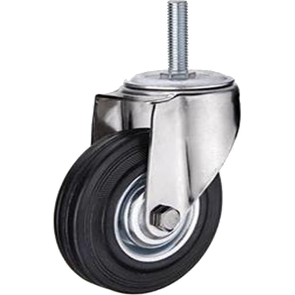 Купить Колесо промышленное поворотное крепление болтом м12 sct42 100 мм mfk-torg 4008100 м12