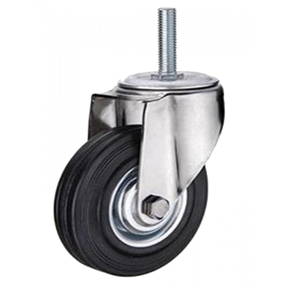Купить Колесо промышленное поворотное крепление болтом м16 sct63 160 мм mfk-torg 4008160 м16