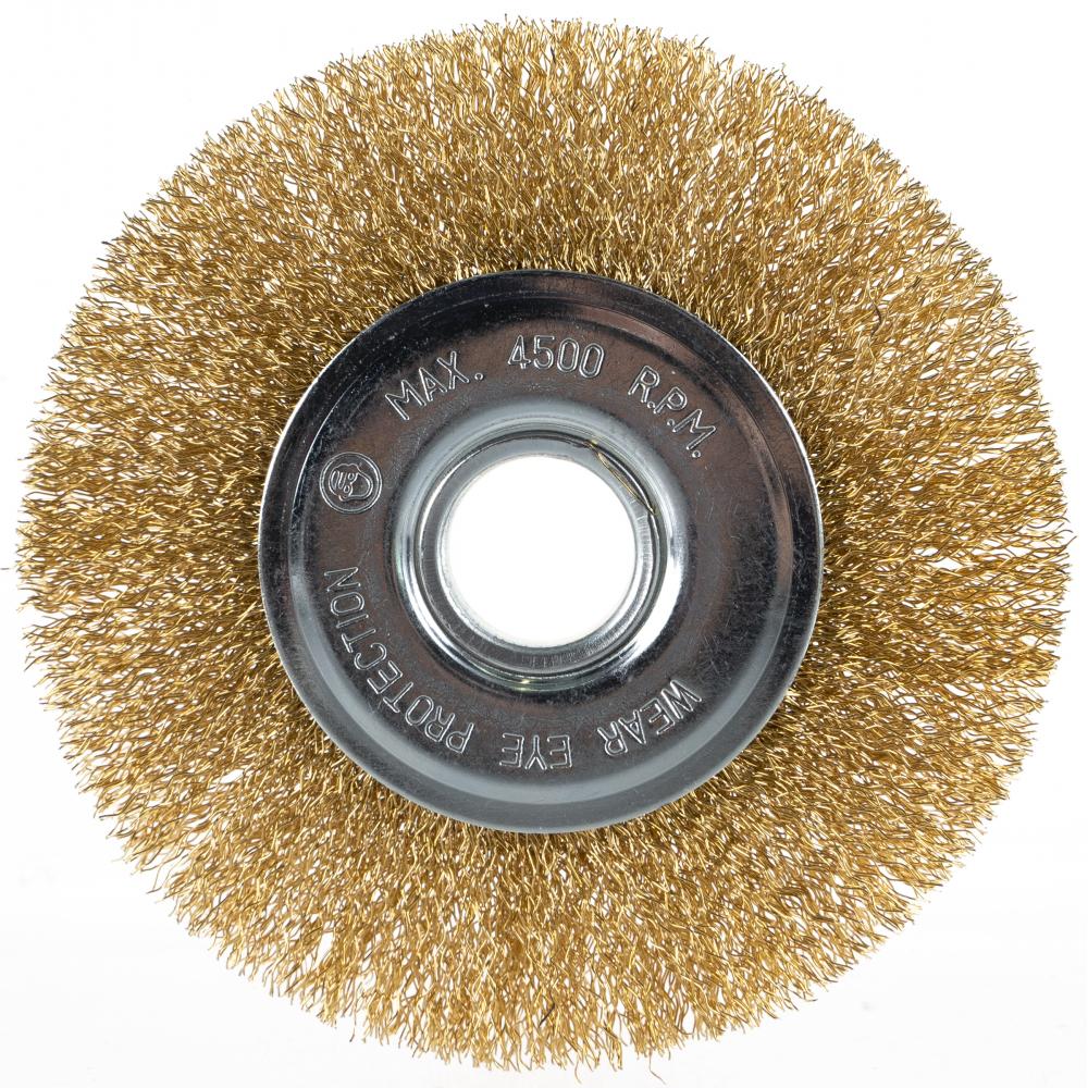 Щетка плоская (125х22.2 мм) для ушм кедр