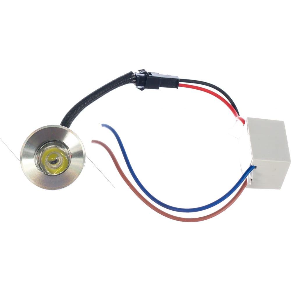 Купить Светодиодный встраиваемый светильник feron 1w, 230v, круглый g770 27667