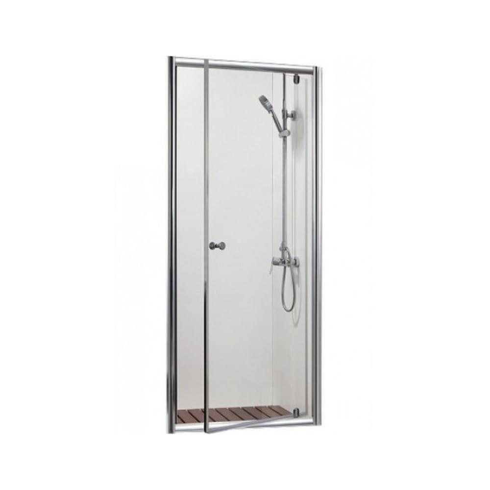 Душевая дверь в нишу bravat drop 80x200 см, распашная 00-00006257