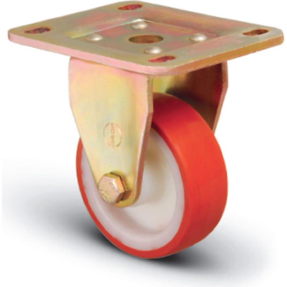 Купить Колесо сверхмощное полиуретановое неповоротное 150 мм mfk-torg ed02 zbp 150