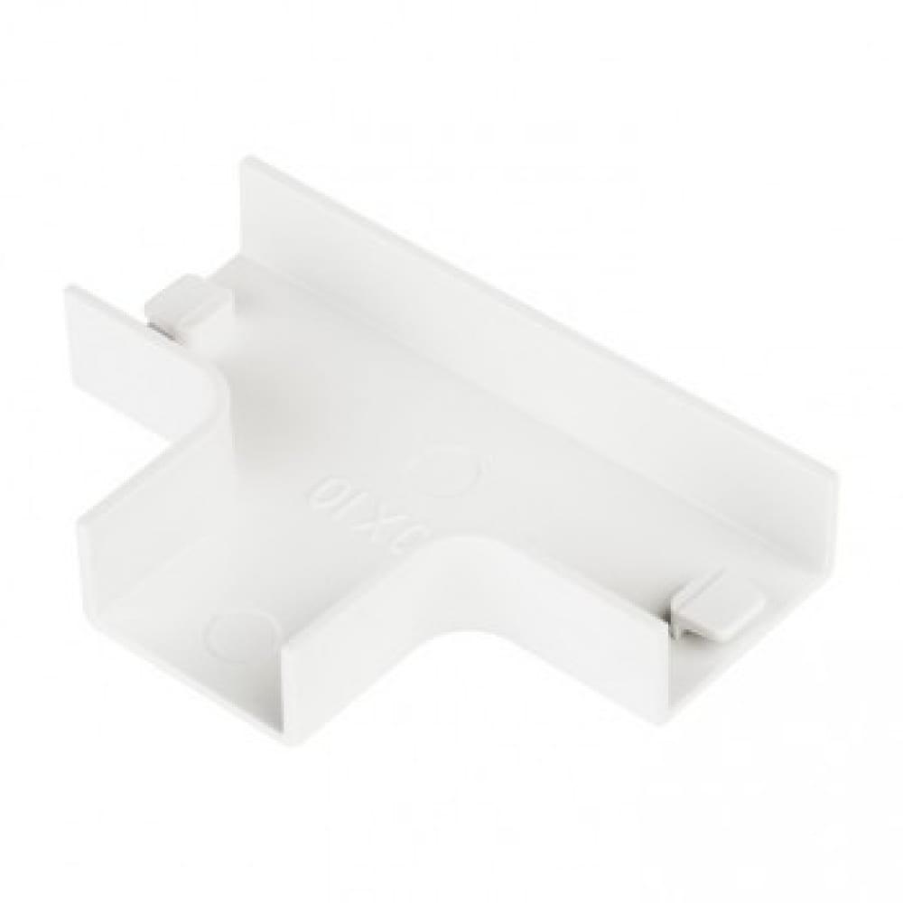 Купить Угол ekf t-образный, 100х40мм, 2 шт, plast, proxima, белый sq tchw-100-40x2