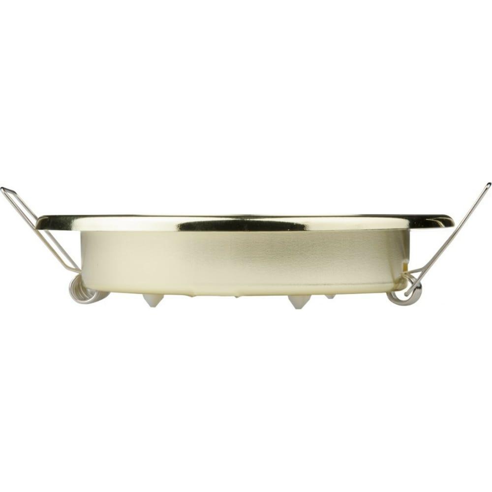 Купить Ультратонкий встраиваемый светильник uniel gx53/h2 gold 10 prom ul-00005053