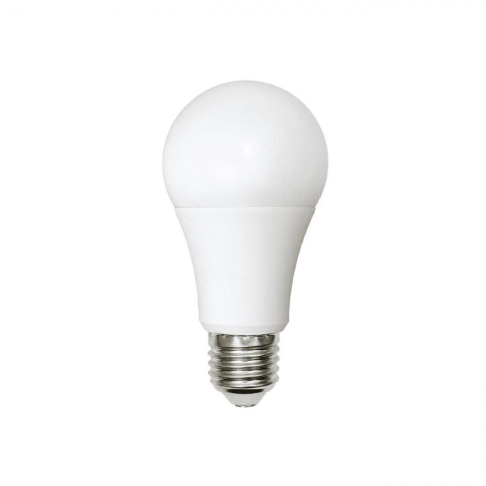 Светодиодная лампа uniel led-a60-9w/ww+nw/e27/fr plb01wh, форма «а», матовая ul-00001569
