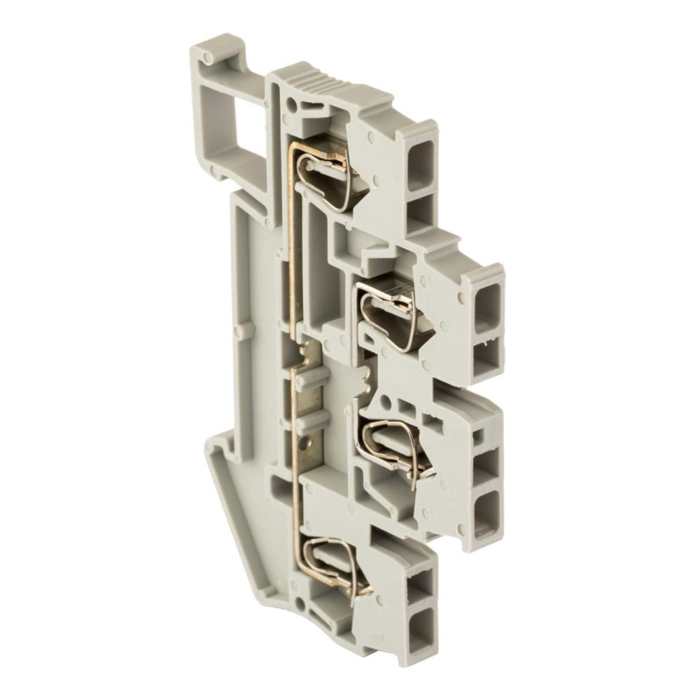 Колодка ekf клеммная, самозажимная, jxb-st-2.5, 31а, 3 вывода, серая proxima sq plc-jxb-st-2.5-3
