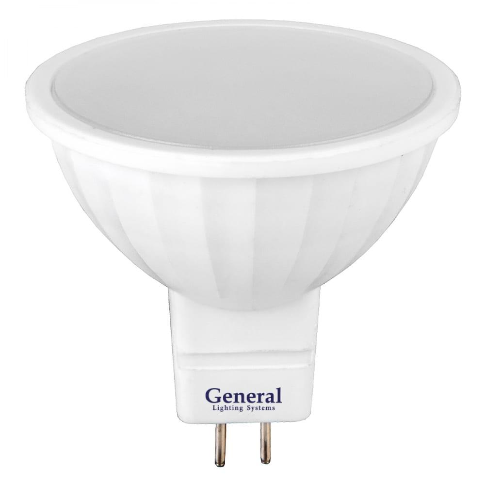 Купить Светодиодная лампа general lighting systems mr16-8w-gu5.3-650500
