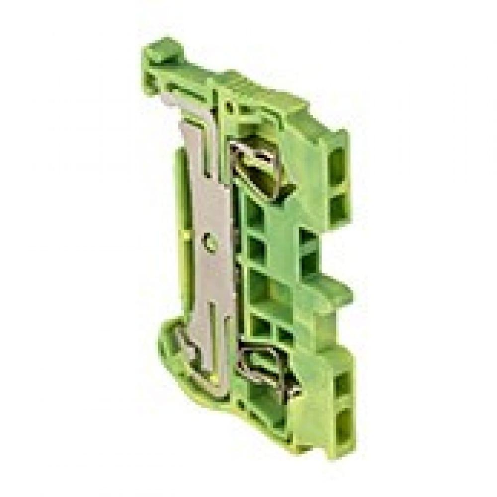 Колодка ekf клеммная, самозажимная, jxb-st-1.5, земля, proxima sq plc-jxb-st-1.5-pen