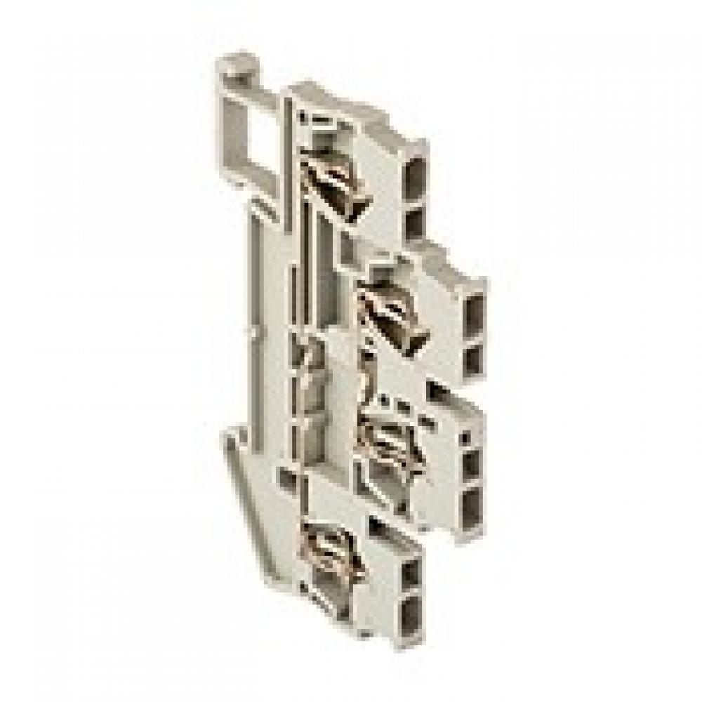 Клеммная колодка ekf самозажимная, двойная, jxb-st-1.5, 17.5а, серая, proxima sq plc-jxb-st-1.5-4-2