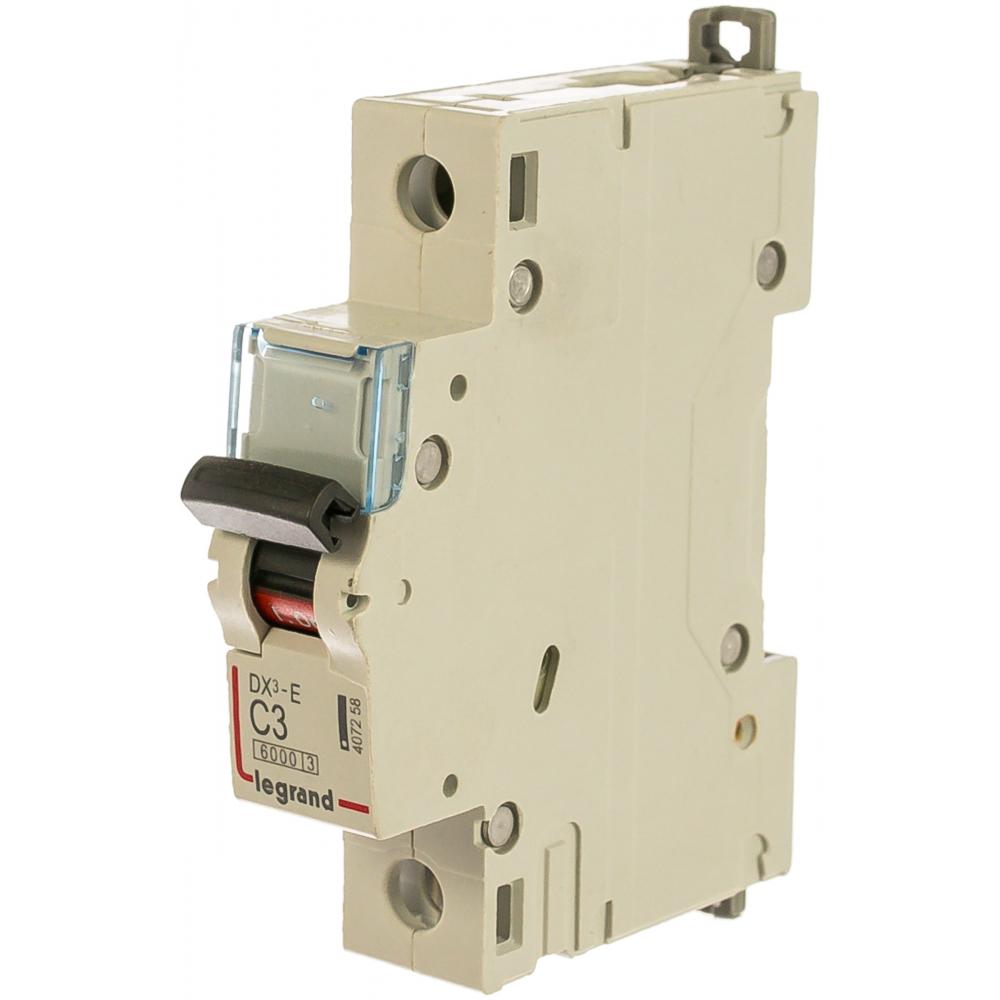 Автоматический выключатель legrand dx3-e модульный 407258