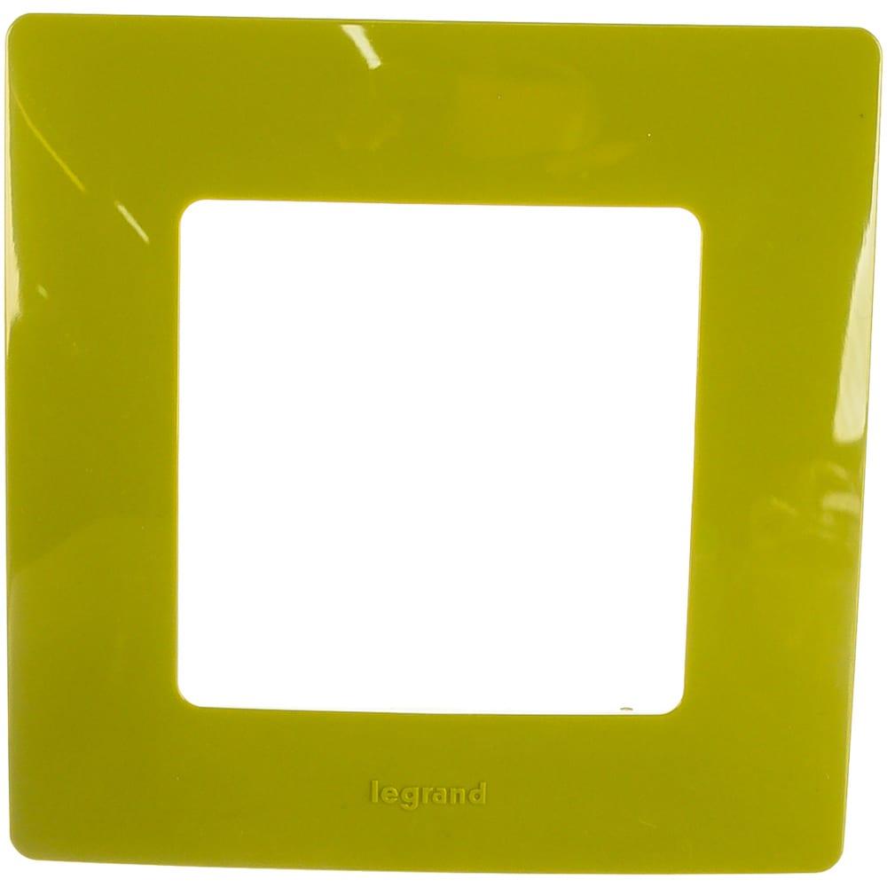 Купить Рамка legrand etika 1 пост зеленый папоротник leg 672541