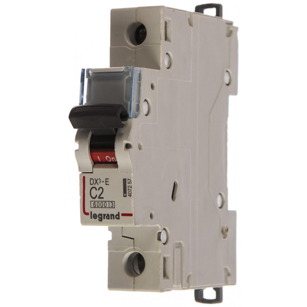 Автоматический выключатель legrand dx3-e модульный 407257