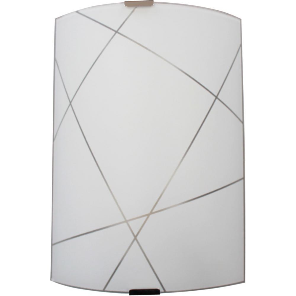 Купить Светильник элетех контур нбб 21-60 м21 иу 210x290 мм матовый белый/клипсы штамп металлик 1005205848