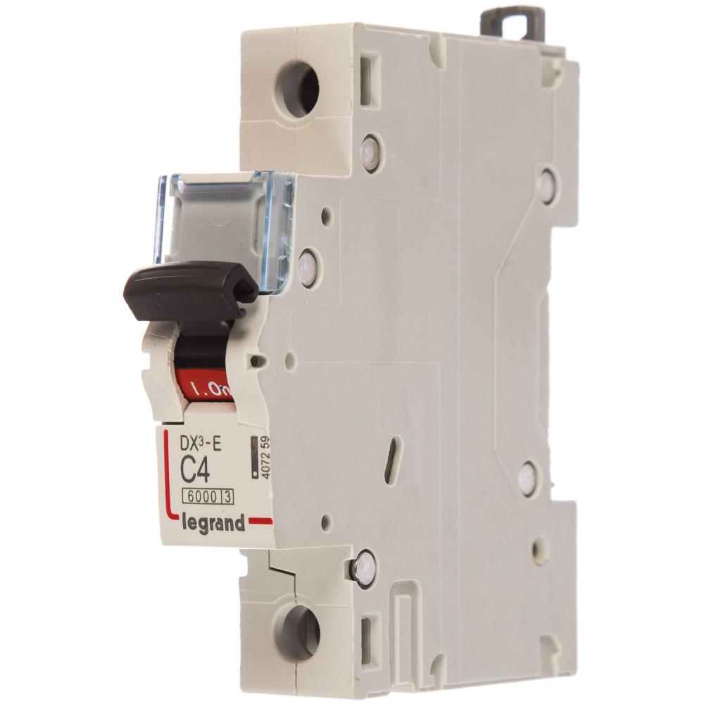 Автоматический выключатель legrand dx3-e модульный 407259