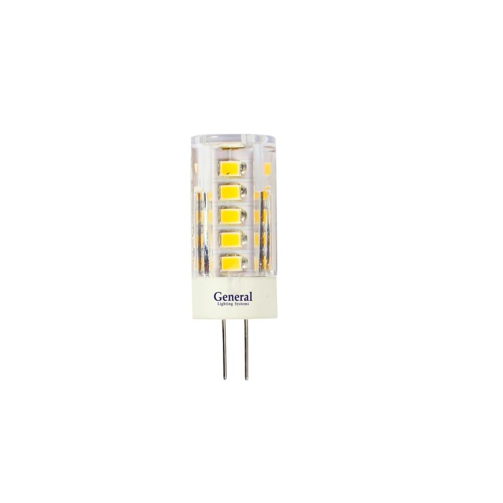 Купить Светодиодная лампа general lighting systems g4-5w-p-12v-2700k 653200