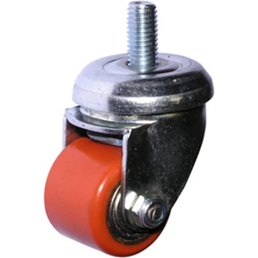 Купить Колесо полиуретановое поворотное крепление болтом м10 903035т 35 мм mfk-torg 1048035