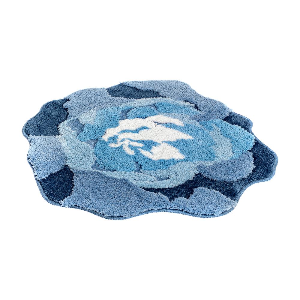 Мягкий коврик moroshka fleur для ванной комнаты