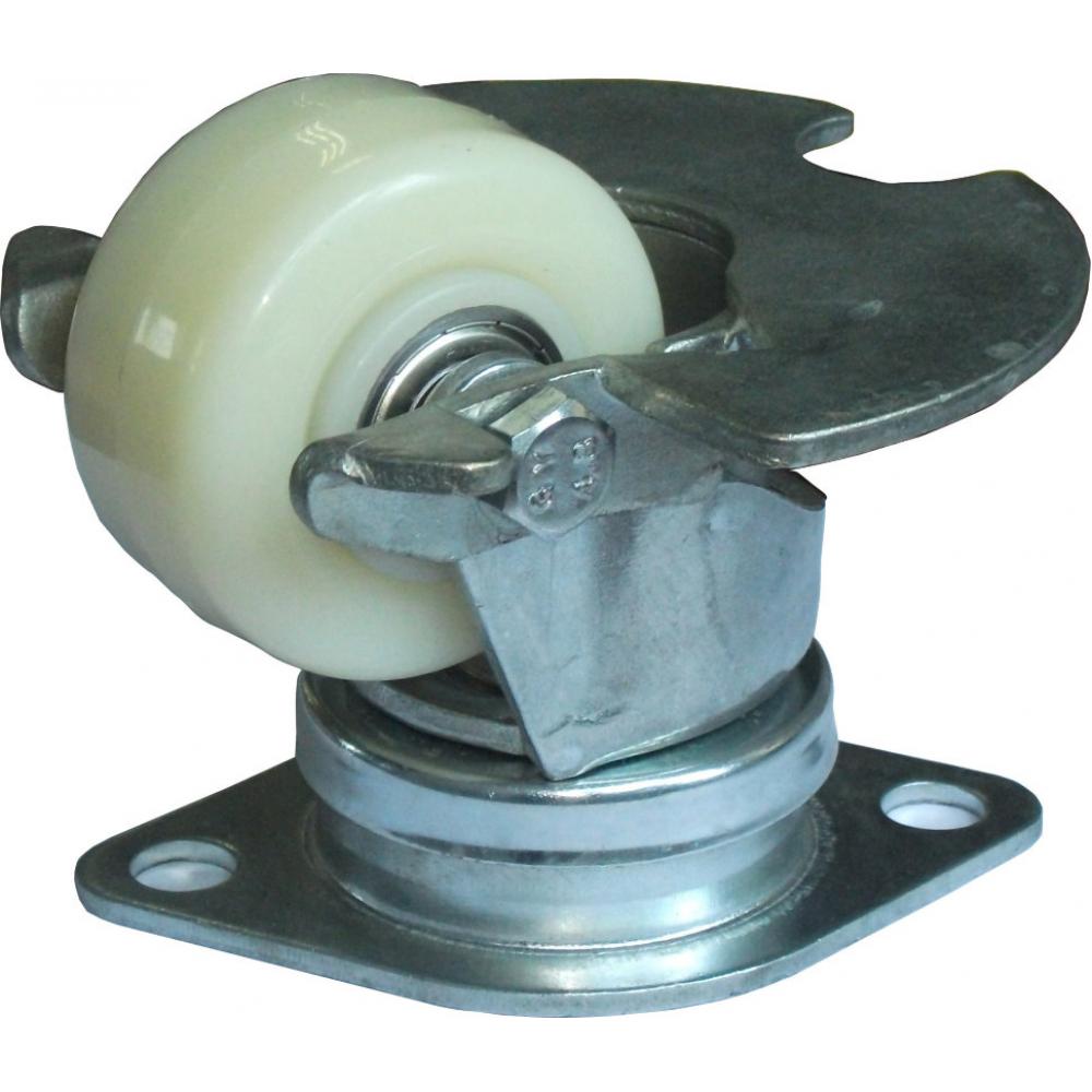 Купить Колесо нейлоновое со стальной пылезащитой cargo caster 62 мм mfk-torg 2825-01-t