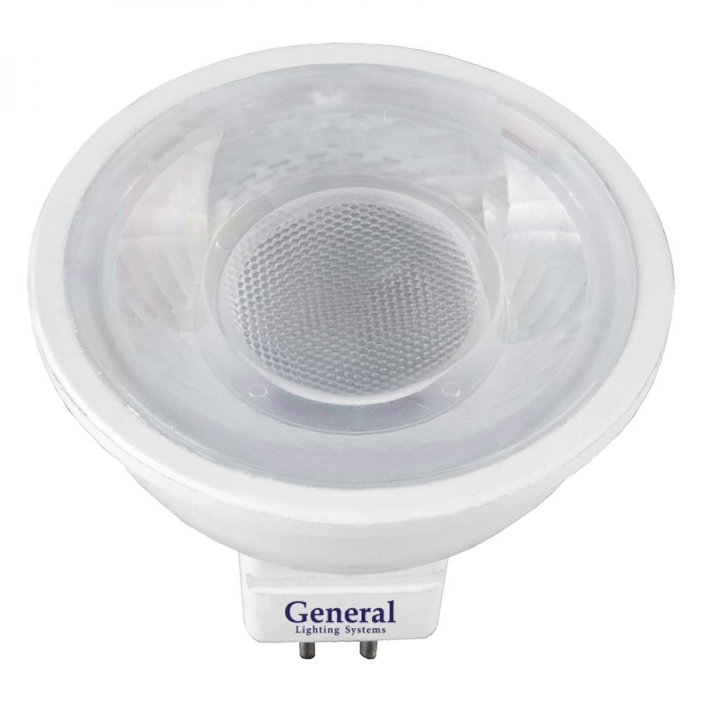 Купить Светодиодная лампа general lighting systems mr16-8w-gu5.3-диффузор 636200
