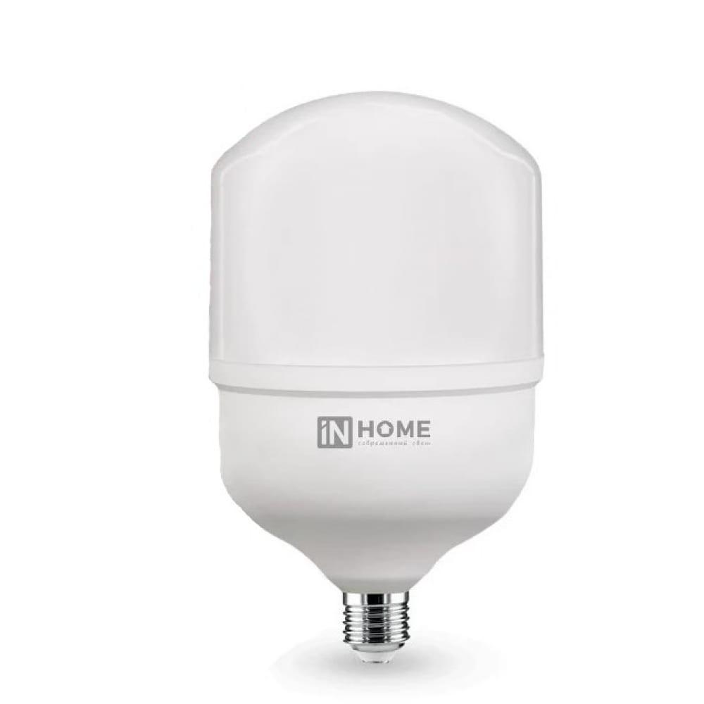 Купить Светодиодная лампа in home led-hp-pro 40вт 230в е27 с адаптером e40 6500к 3600лм 4690612031101