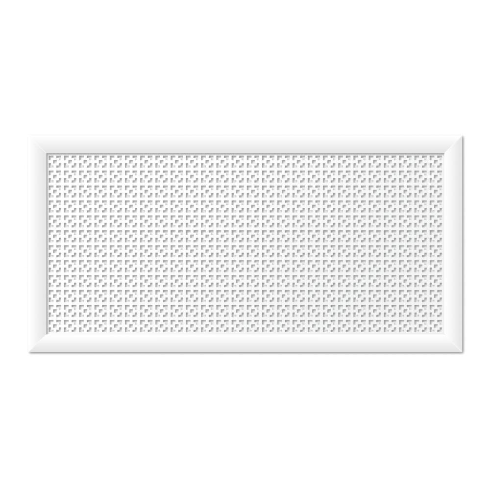 Экрандлярадиаторастильный дом дамаско 120х60 см, белый v546131  - купить со скидкой