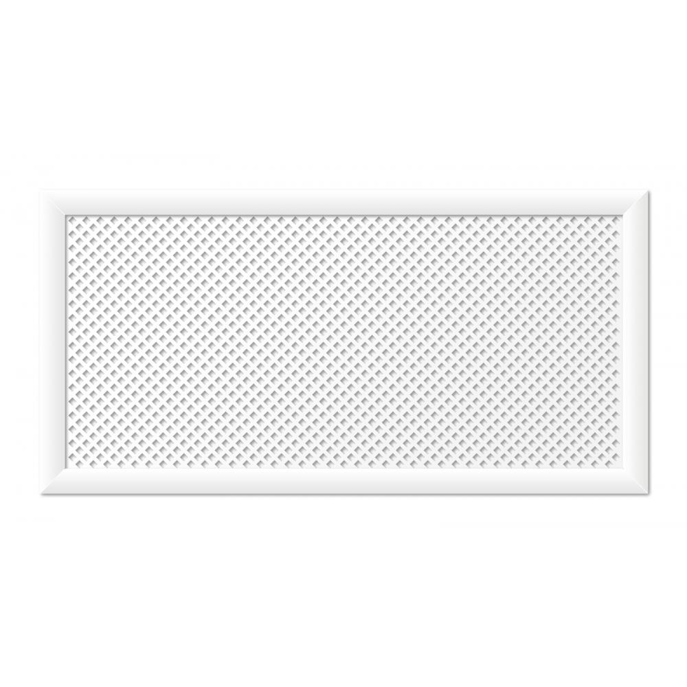 Купить Экрандлярадиаторастильный дом глория 120х60 см, белый v546728