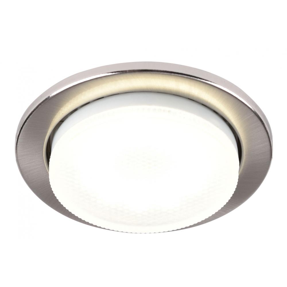 Купить Светильник general lighting systems gcl-10gx53-h18-sn сатин-никель 10 10 689110