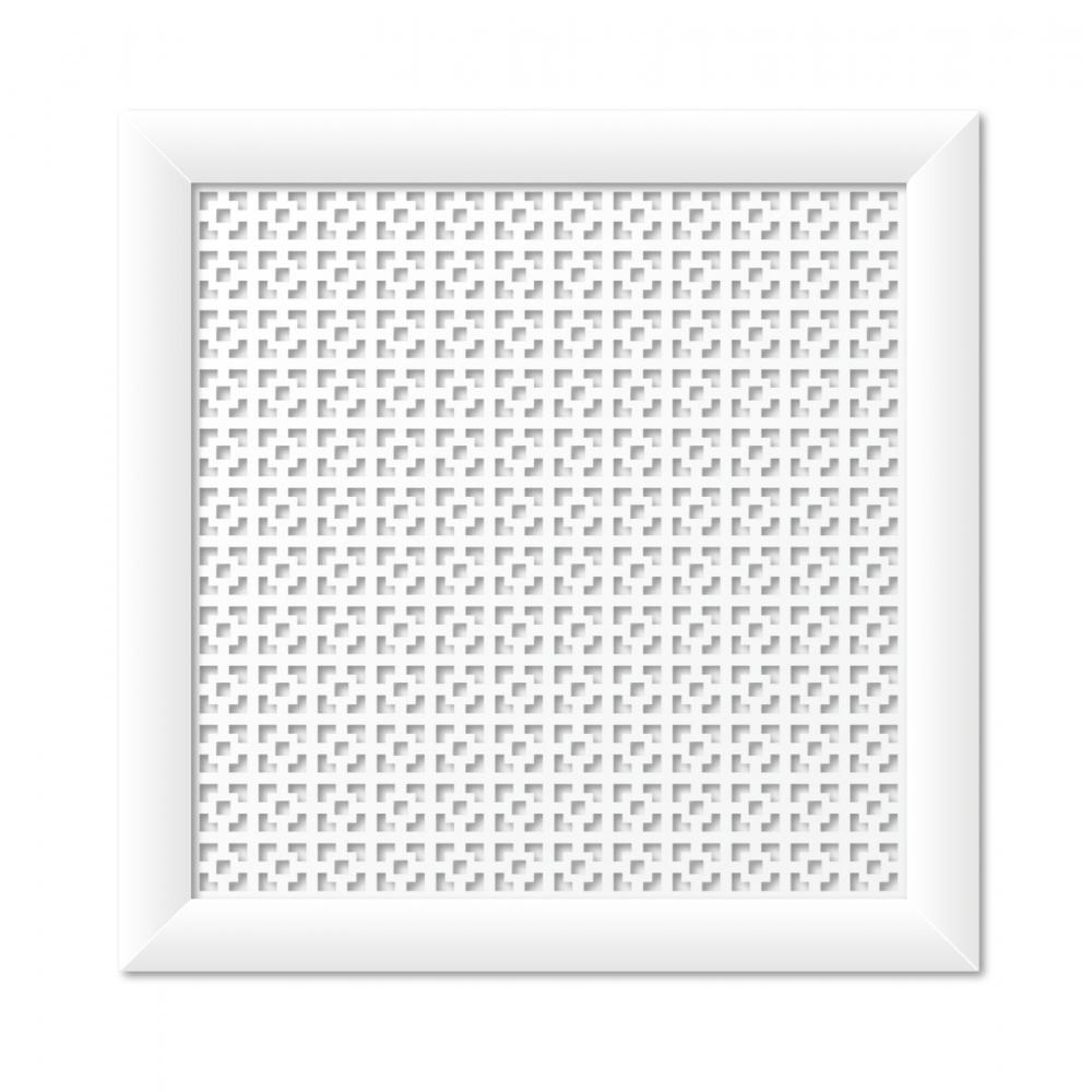 Купить Экрандлярадиаторастильный дом дамаско 60х60 см, белый v545660