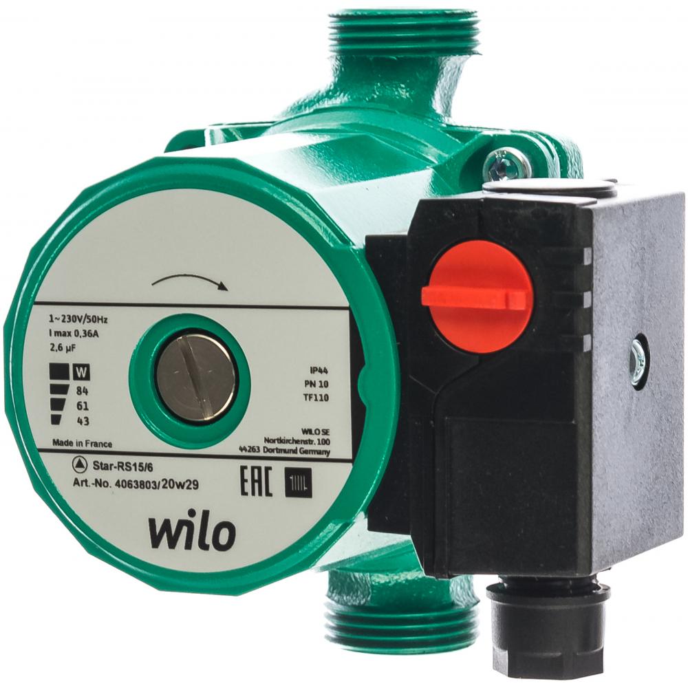 Купить Циркуляционный насос wilo star-rs 15/6-130 4063803