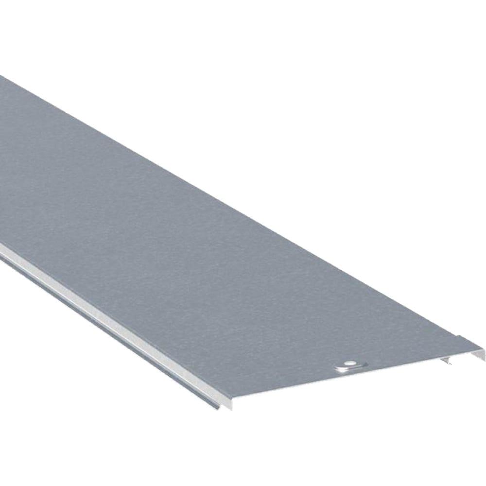Крышка на металлический лоток основание ekf 500мм-0,7мм, 6м, l3000 sqk50010
