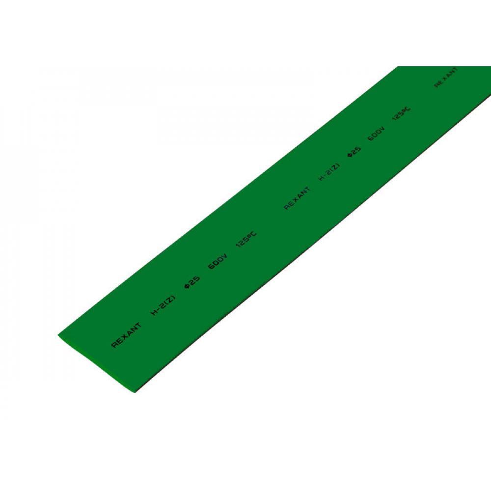 Купить Термоусадка rexant 25.0/12.5 мм, 1м, зеленая, 10 шт 22-5003