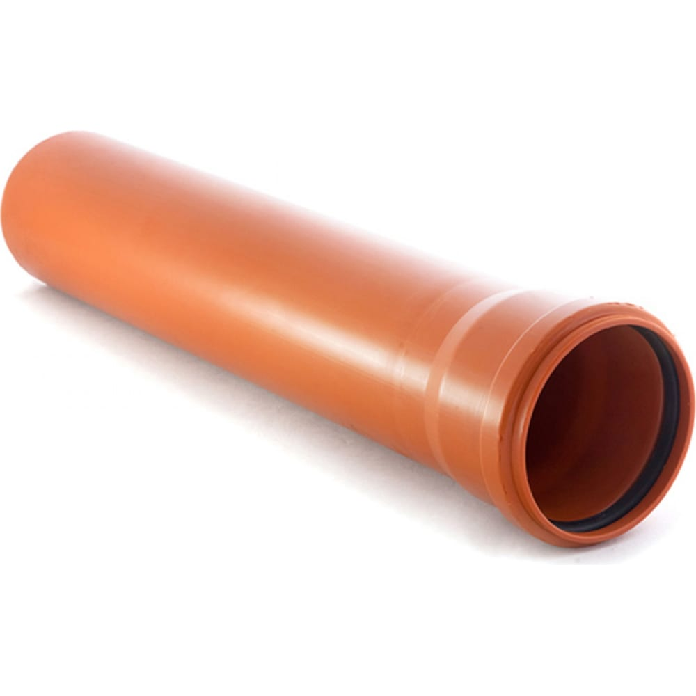 Купить Гладкая труба rtp пп, класс жесткости sn 4, д 110 мм, s=3, 4 мм, l 2000 мм 11211