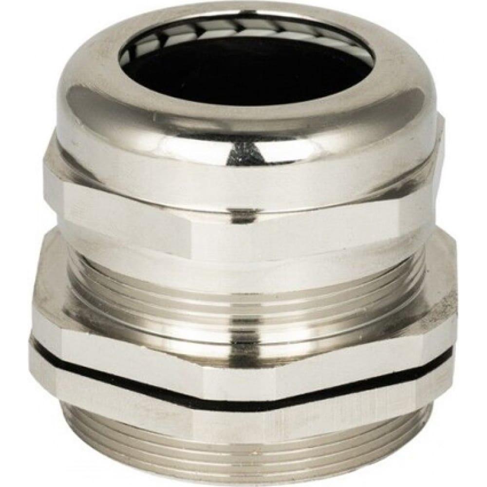 Металлический сальник ekf proxima mgm19, ip68, d проводника 6-10 мм., sq plc-mgm-19