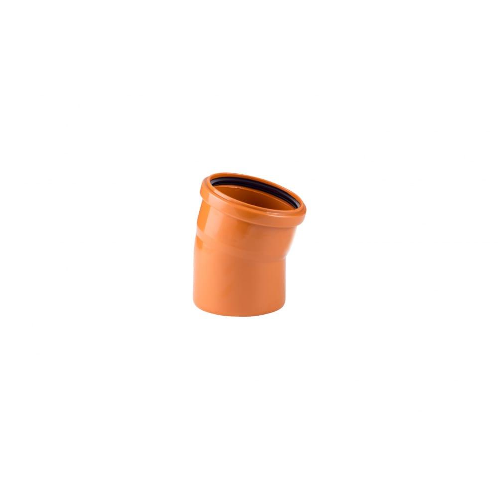 Купить Отвод наружной канализации rtp 160 мм, 15 градусов 11651