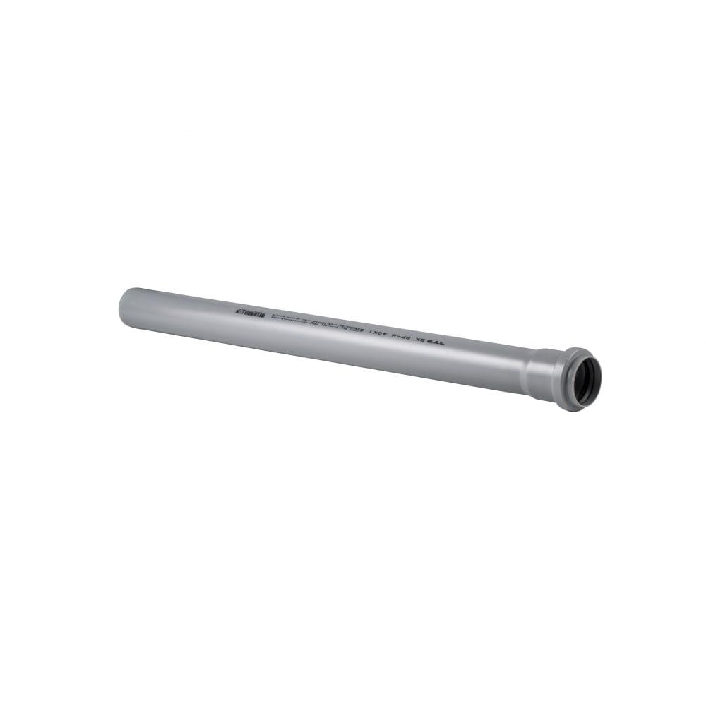 Купить Труба rtp пп, д 40 мм, толщина стенки 1, 8 мм, l 1500 мм, серая 11148
