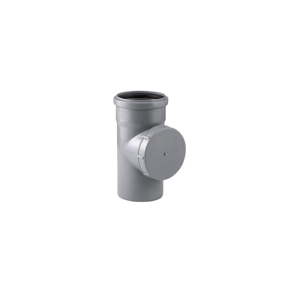Купить Канализационная ревизия rtp 110 мм, серая 11373