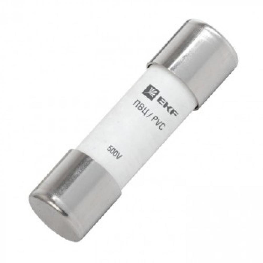 Плавкая вставка ekf цилиндрическая, пвц 14х51мм, 16а, proxima sq pvc-14x51-16