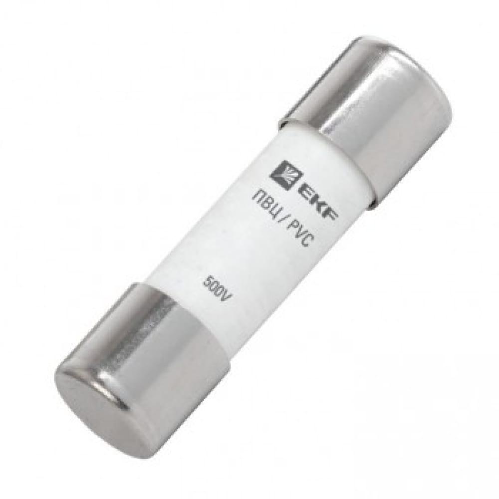 Плавкая вставка ekf цилиндрическая, пвц 14х51мм, 25а, proxima sq pvc-14x51-25