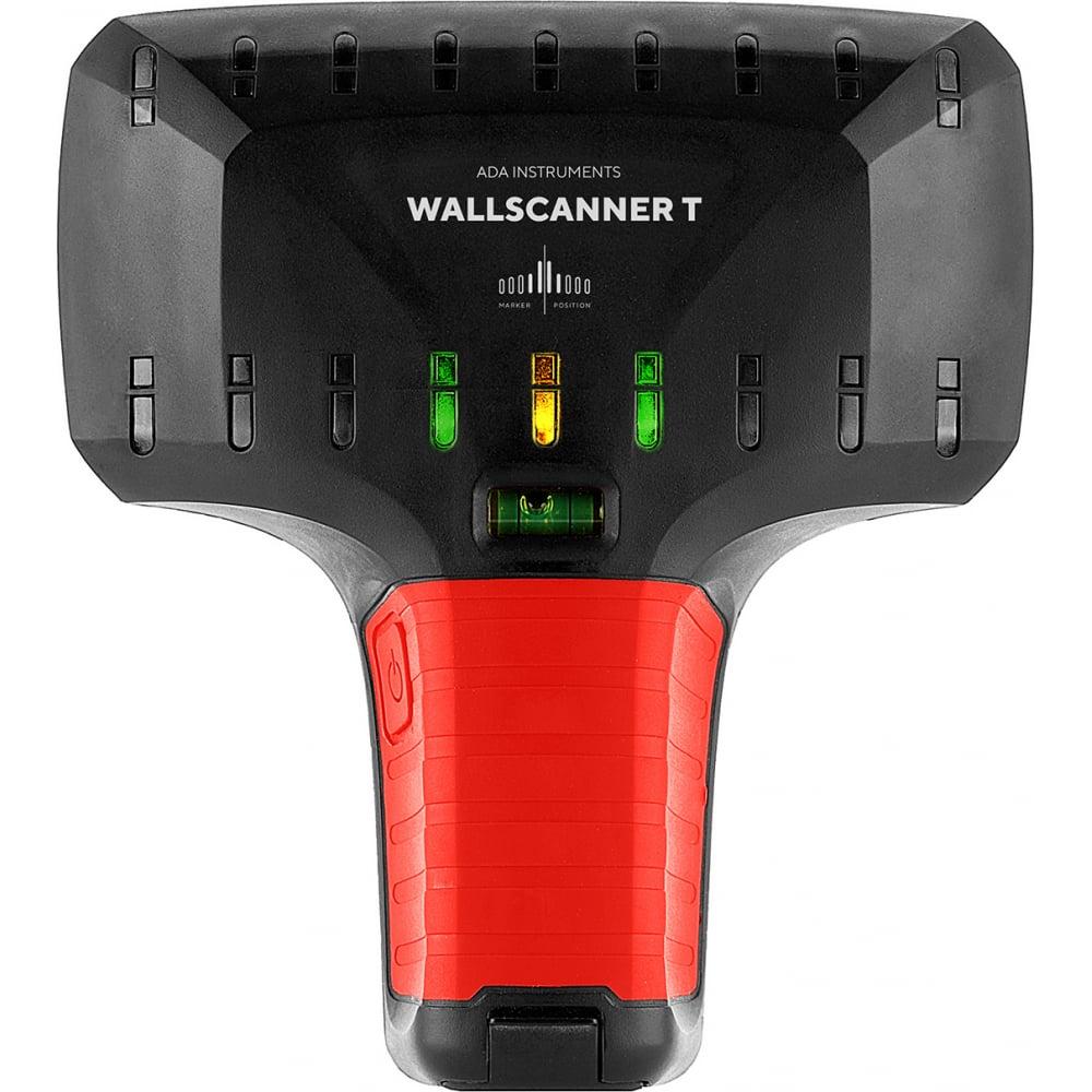 Детектор металла, проводки и электричества ada wall scanner t а00586