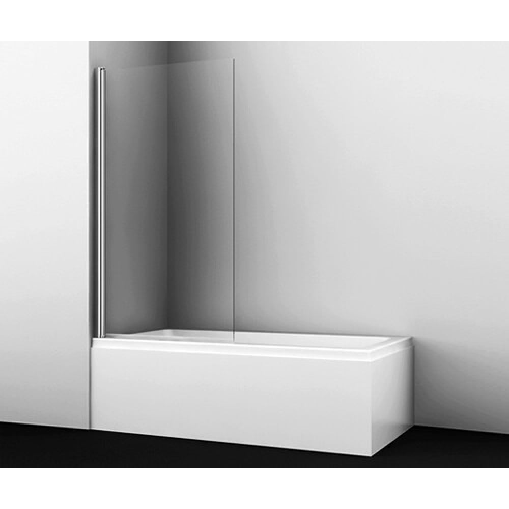 Купить Стеклянная шторка на ванну wasserkraft berkel 48p01-80