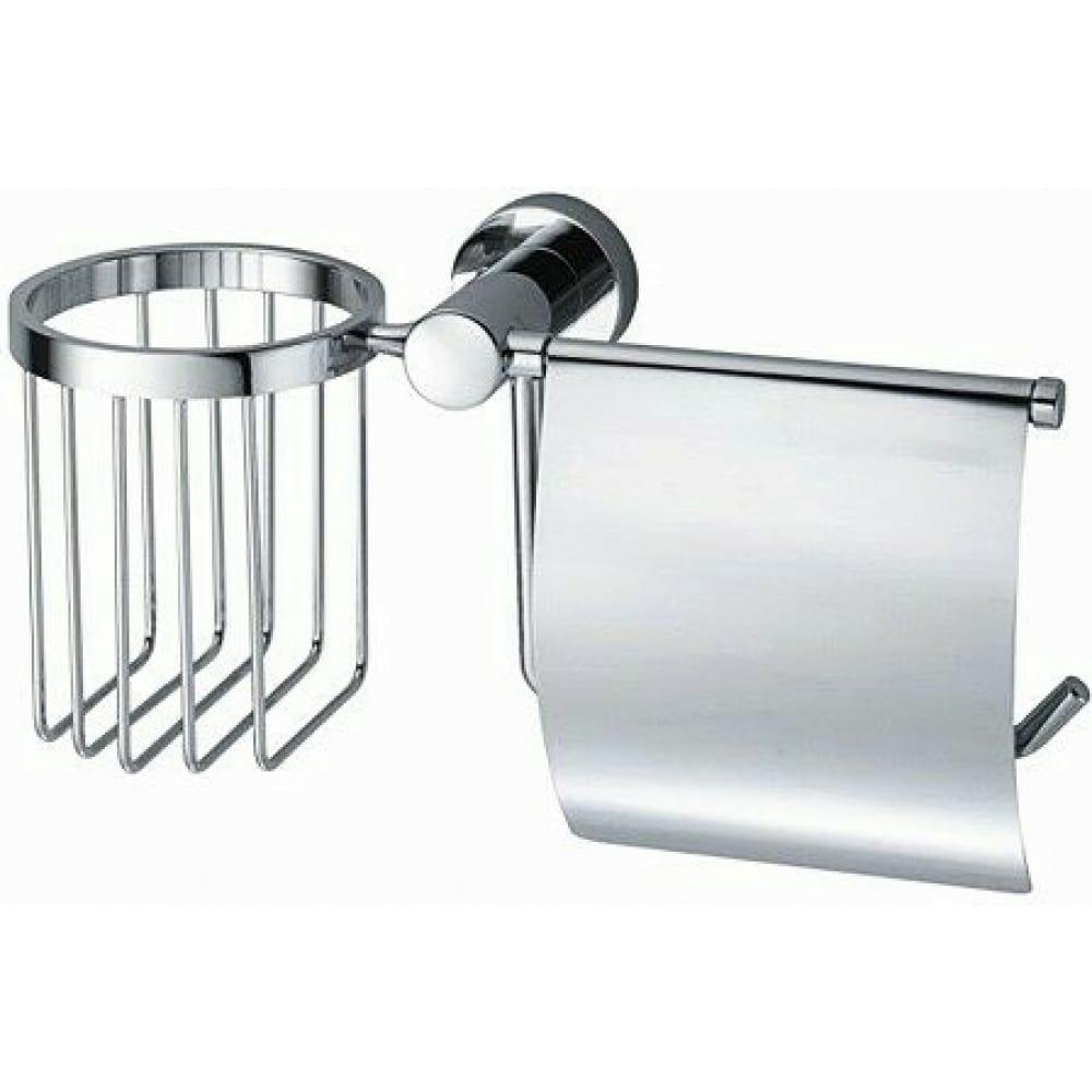 Купить Держатель туалетной бумаги и освежителя wasserkraft donau k-9459
