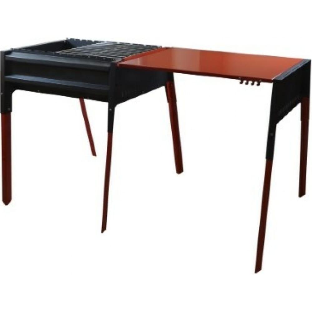 Термо-мангал со столом-крышкой klesto kt 2000010