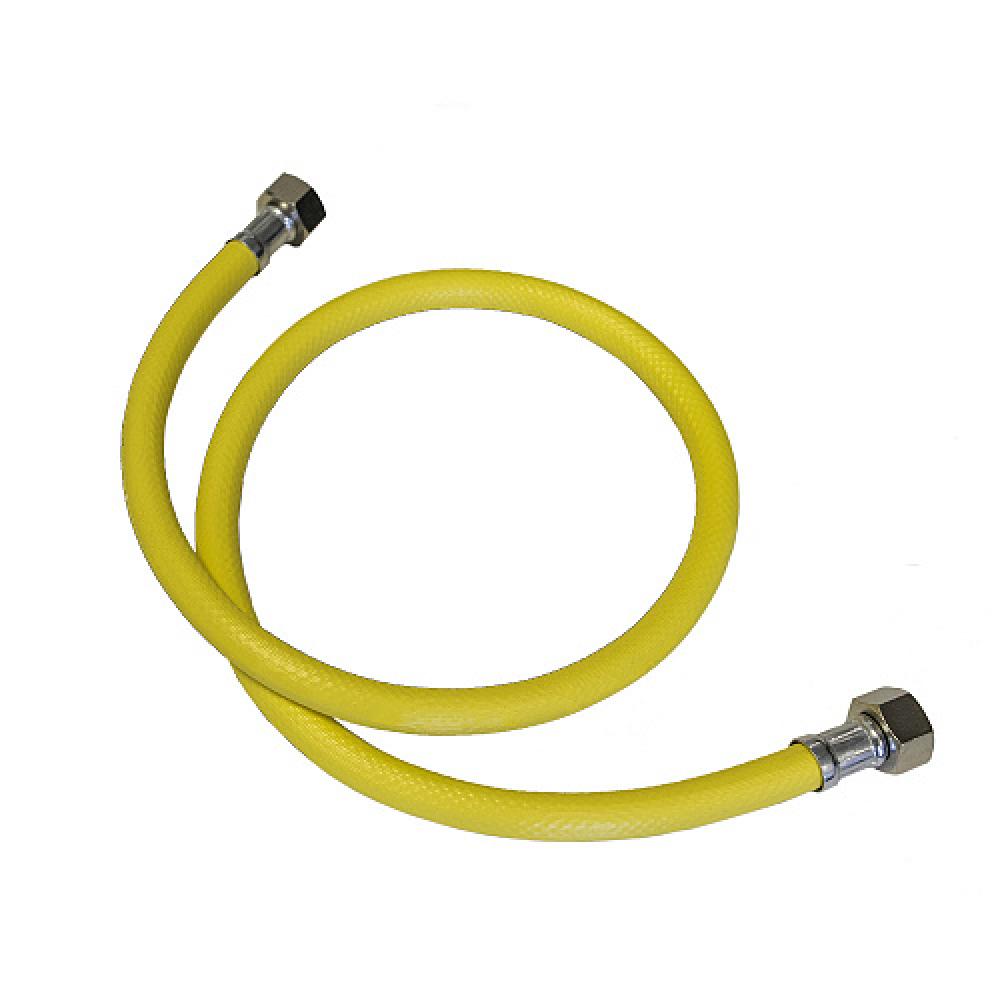 Купить Подводка для газа стм газ пвх, 1/2 , гайка-гайка, 150 см cgvf1215